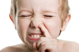 Nasal itching dangerous to health